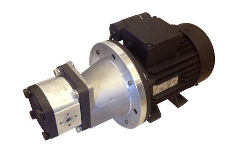 Elektrisk hydraulisk pump / motorenhet - Pumpe elmotorenhed