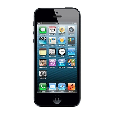 Apple iPhone 5 32GB (Sort) - Grade B - mobiltelefon