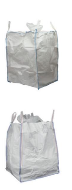Big bags 90x90x110 cm - nyttelast 1.000 kg. - Big bags til byggeaffald