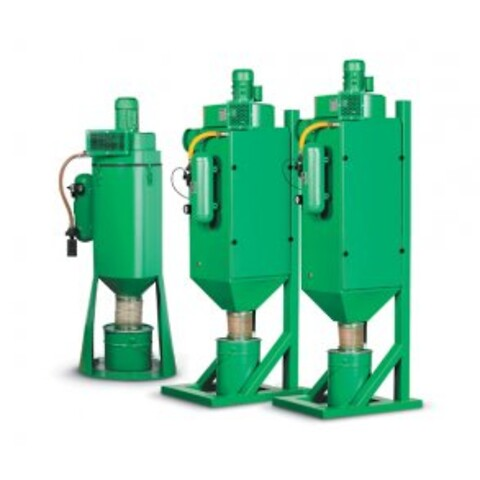 Filterunit DC-750 15 m² filter m/ rensning 0,75 KW.
