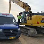 Scantruck er derfor netop nu ved at etablere en fast base i Rødby i forbindelse med byggeriet af Femern-forbindelsen.