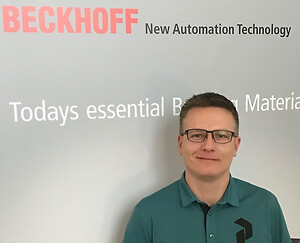 Morten Rasmussen solutions sales engineer hos Beckhoff Automation