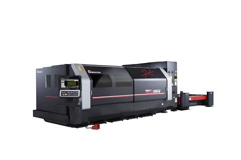 Amada VENTIS Fiber Laser Maskin - Amada VENTIS Fibre Laser