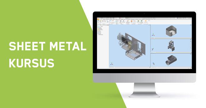 Autodesk Inventor Sheet Metal kursus hos Invent A/S