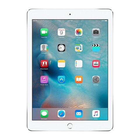Apple iPad Air 2 64GB WiFi + Cellular (Sølv) - Grade B - tablet