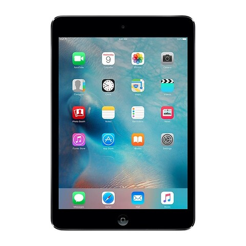 Apple iPad Mini 2 32GB WiFi (Sort) - Grade B - tablet