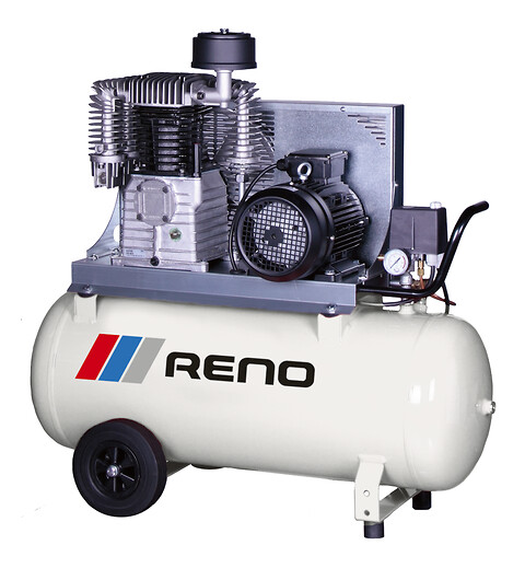 Reno 4 hk kompressor - 90 L tank 2019