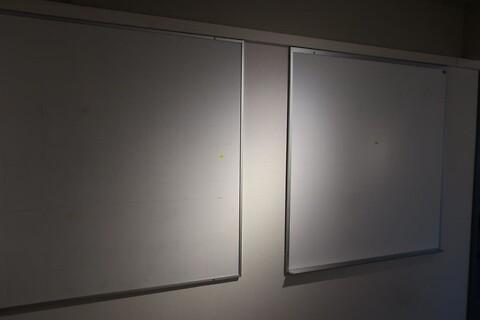 2 stk. whiteboards