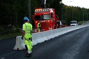 Deltabloc; skydd; vägarbete; säkerhet; DB80