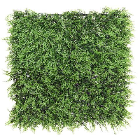 Bladmix plade, Bregne, 100x100cm, kunstig plante