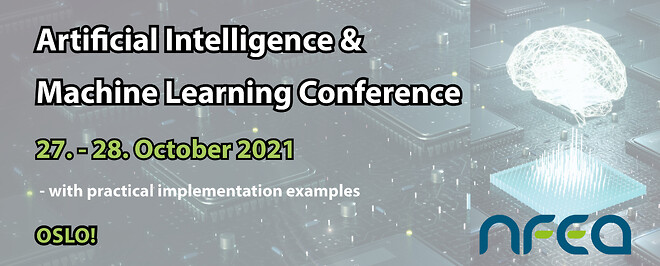 The conference will be relevant both to early adopters and organisations still waiting to get started with Artificial Intelligence and Machine Learning. AI og ML