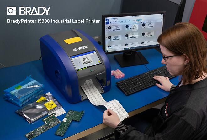 Industriell etikettskrivare BradyPrinter i5300