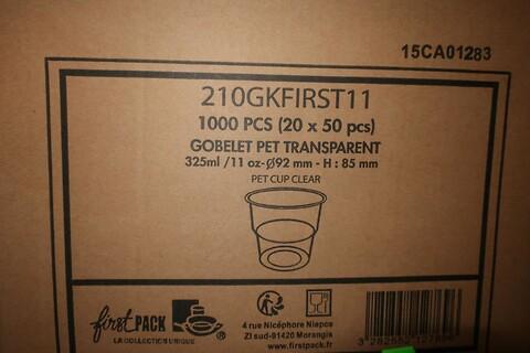 2000 stk. pet bæger firstpack 210GKFIRST