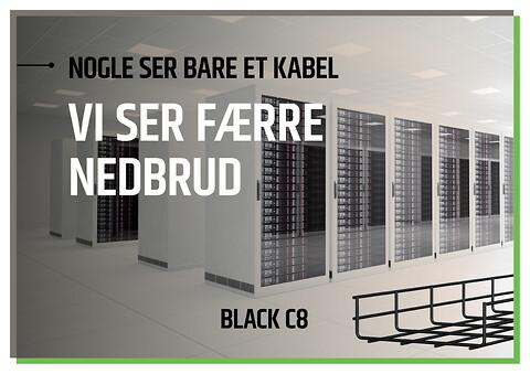BLACK C8 gitterbakker fra Scankab