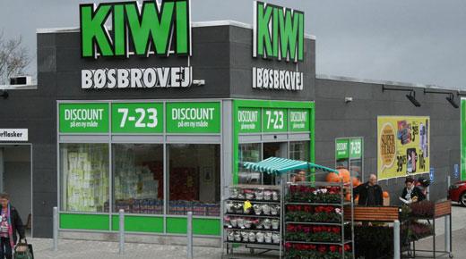 eedc919008f Disse Kiwi-butikker fortsætter som Spar eller Meny - RetailNews
