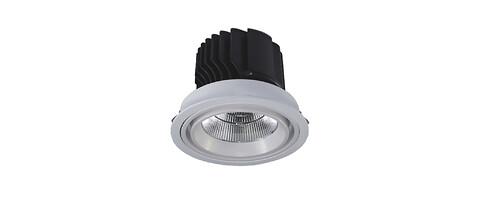 Kraftfull LED-downlight på 4.900 lm
