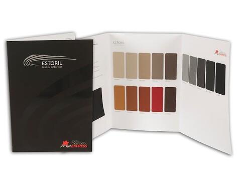 Estoril prøvekollektion folder