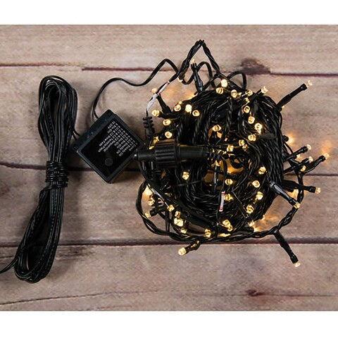 Lyskæde med 180 LED'er