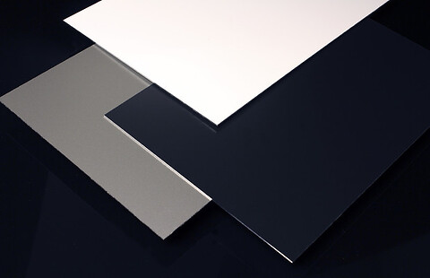 Lakkerte plater/coil i aluminium