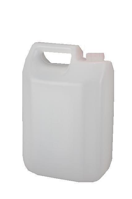 Plastdunk- 4 l. m/40 hals-UNY-130 g.- natur