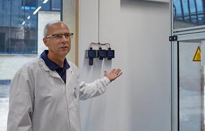 Forskningstekniker Jens Borchsenius