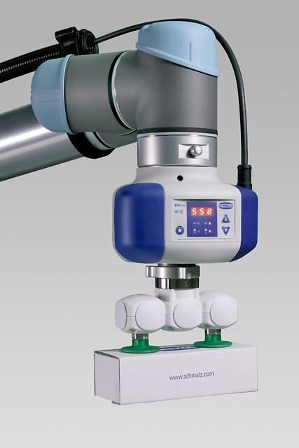 Ny vakuumpumpe til direkte montering på Universal robots