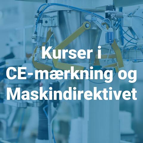CE-mærkning l-lll: Kursuspakke med rabat