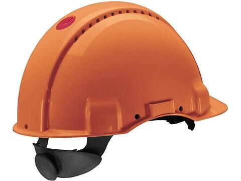 Sikkerhedshjelm G3000 peltor orange - 3M