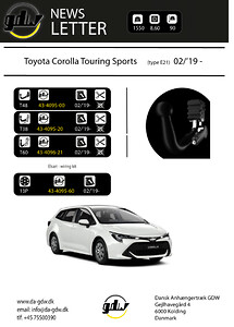 Toyota Corolla Touring Sports nyhed
