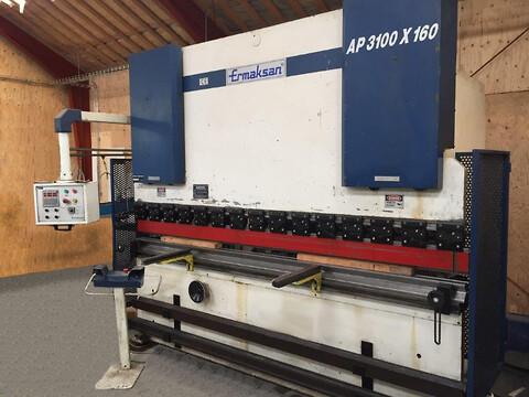 Ermaksan AP 3100 x 160 tonn 2000