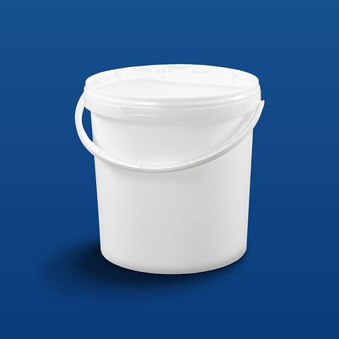 Plastsp EZE10000-10,6 l. m/profilh. - hvid