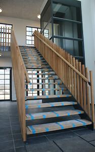 Stål og design trappe