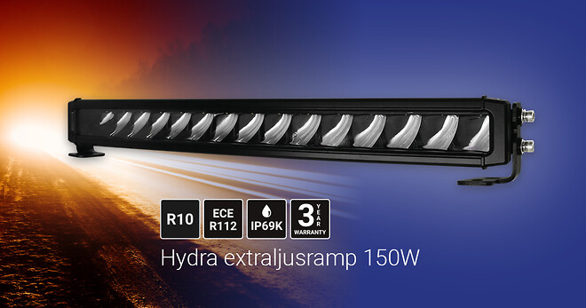 Hydra extraljusramp