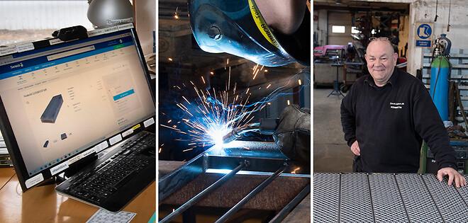 Dansk Altan køber stål online ved Sanistål. Effektivt og brugervenligt.