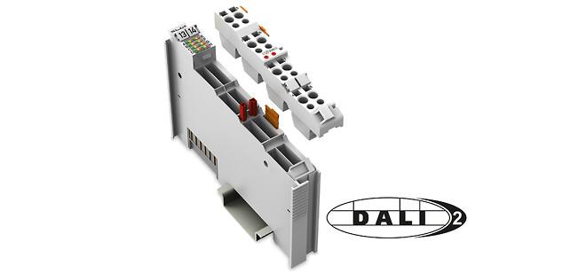 DALI-multimastermodul 753-647 overholder DALI-2 standarden