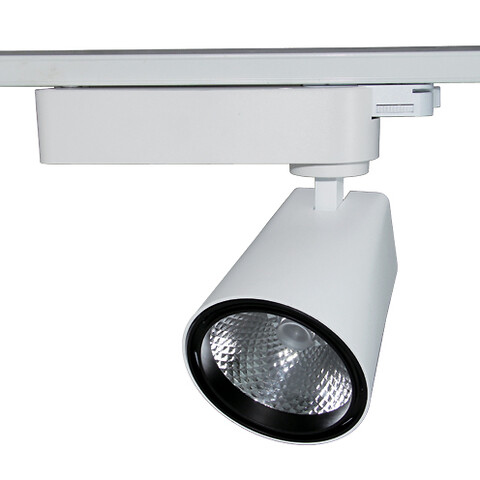 Mega kraftige LED skinnespots