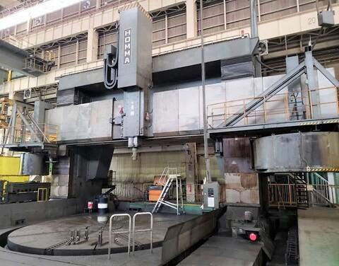 Homma HTM 7 0/9 0  1991 - Homma HTM 7 0/9 0 Vertical CNC Turning & Milling Center