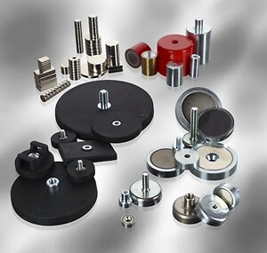 Magneter till industrin, Magnetsystemer, Mangeter, små magneter, starka magneter