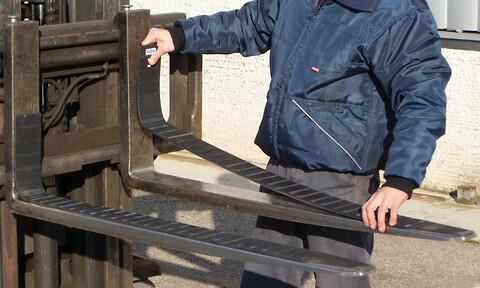 Beskyttelse til truckgafler fra AAG