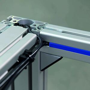 Movotec SMS-monteringsprofil bordsjustering system hos Aero Materiel