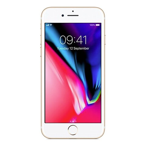 Apple iphone 8 64GB (guld) - grade c - mobiltelefon