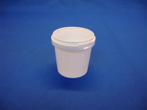 Plastbøtte 5102 - 155 ml. - hvid