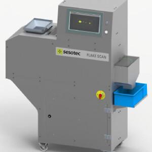 Flake Scan är ett system med multisensorer för återvinning av plast.