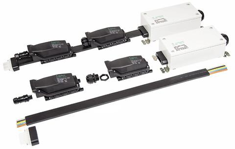 podis® CON – er et innovativt og fleksibelt fladkabelsystem der sparer dig tid! - Wieland Electric viser podis fladkabel til decentral installation