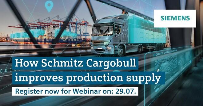 Schmitz, Cargobull, Siemens, production, supply, Webinar