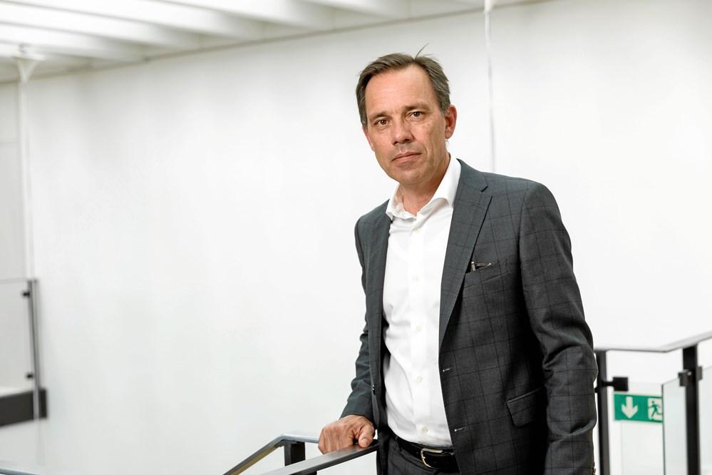 56aaba0c Davidsen bliver en fantastisk ejer af Optimera, mener adm. direktør Peter  Møller fra Saint-Gobain Distribution Denmark. (Foto: John Ehbrecht)