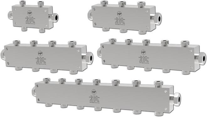 højtryks manifold, 316 eller anden exotisk legering hos PG Flowteknik Scandinavia ApS