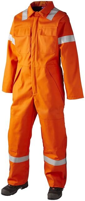 Termokedeldragt, hi-vis, antistatisk & antiflame, kl. 1, 12032 - orange