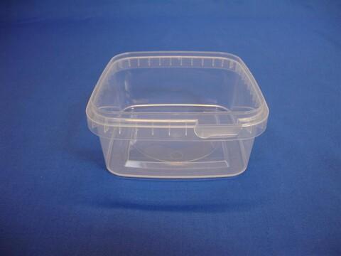 Plastbøtte 5621 - 600 ml. - klar