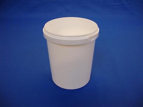 Plastbøtte 5133 - 1580 ml.- hvid
